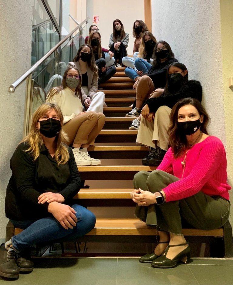 Las alumnas de máster de EIP BARCELONA organizan el primer evento presencial de todas las sedes