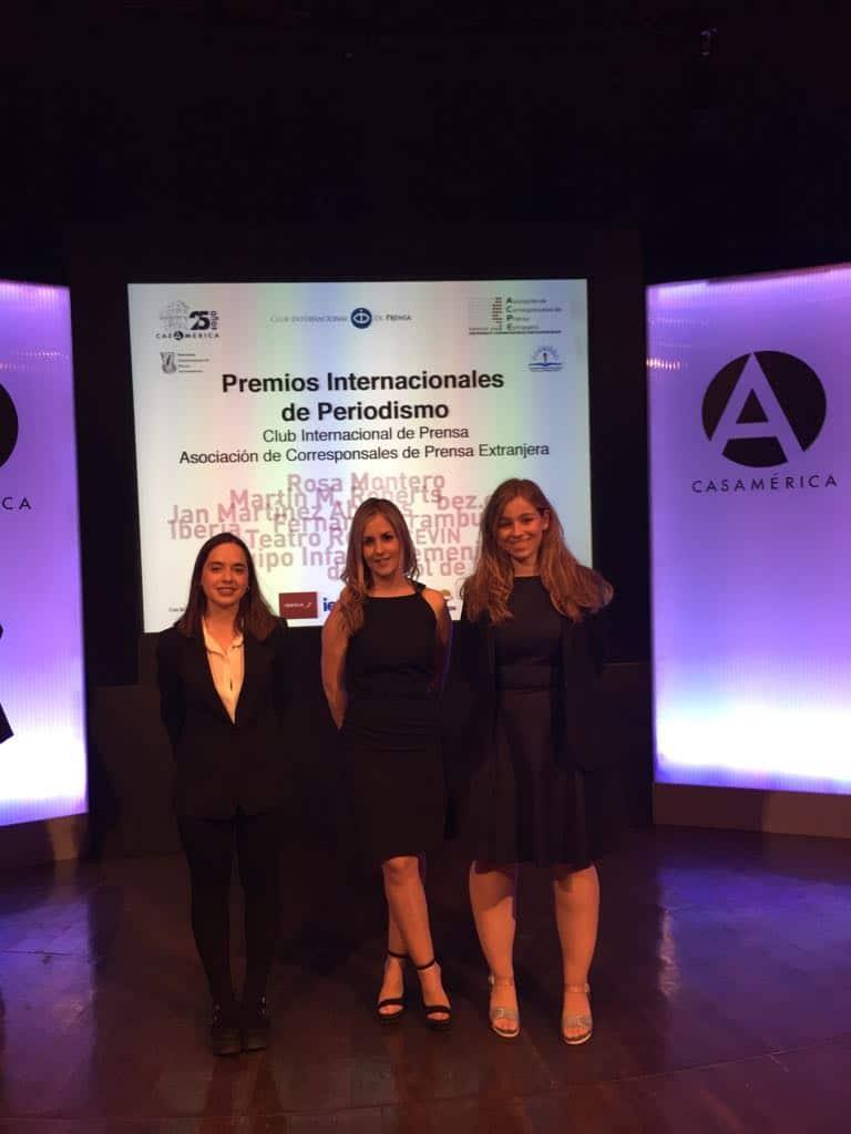 Prácticas de alumnas EIP Madrid en el Club Internacional de Prensa