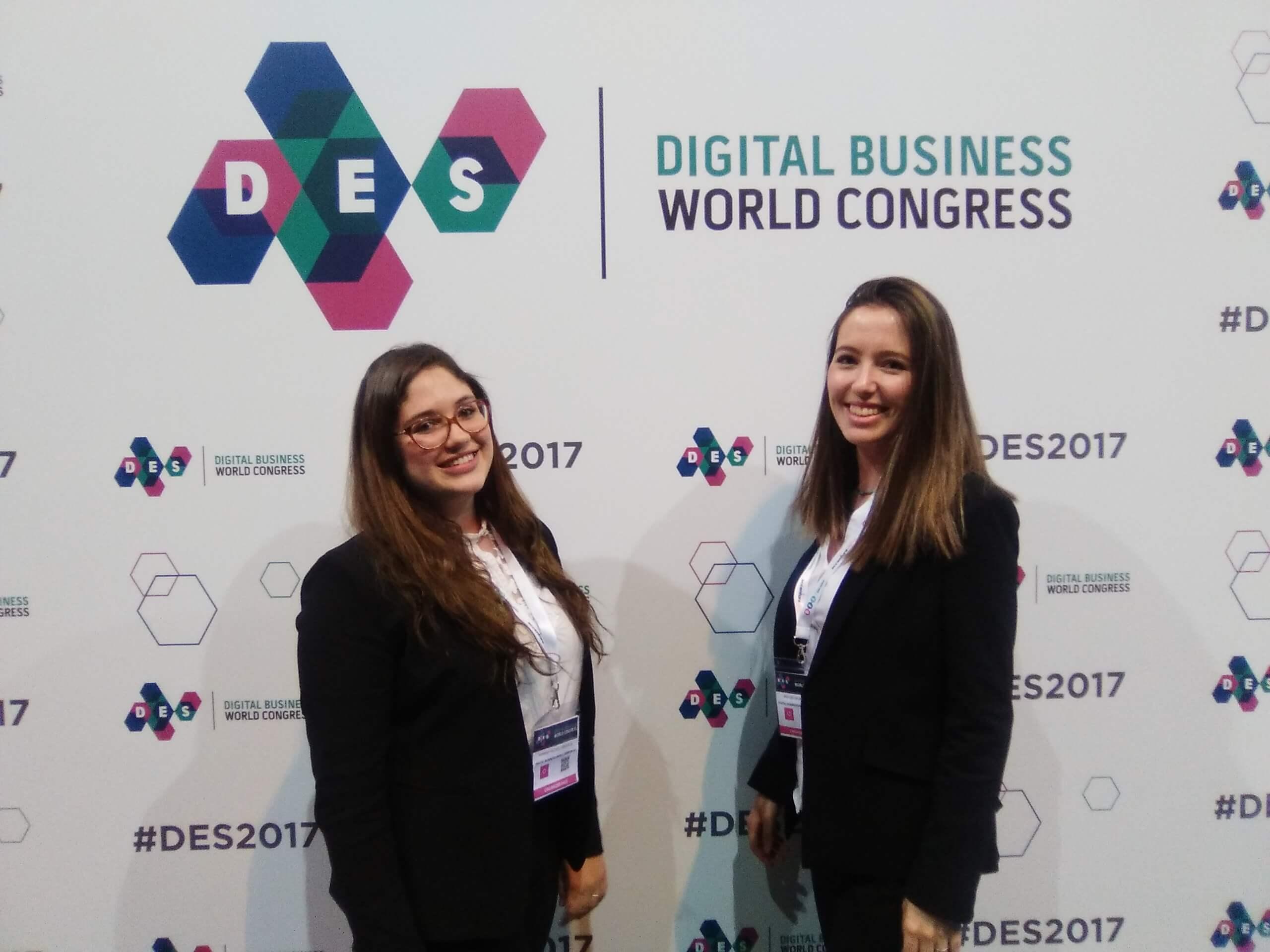 prácticas MBA en el digital business world congress