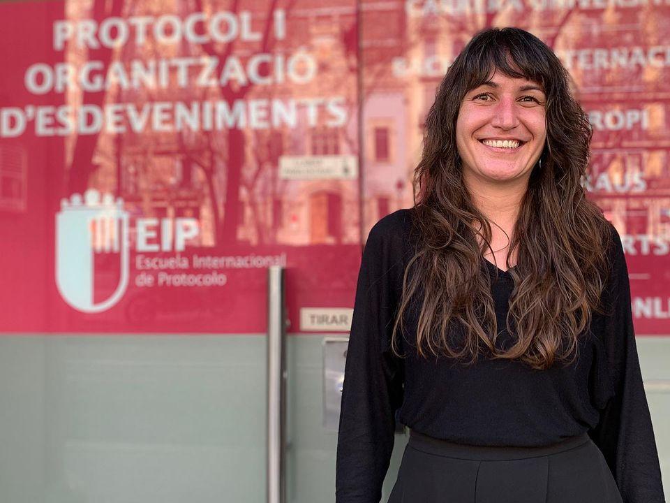 Alba Agustí Alerta Roja en EIP Barcelona