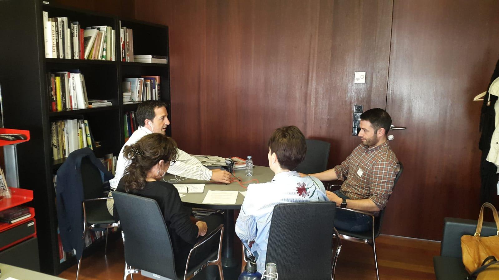 Grabación EIPodcast en Museo Reina Sofía