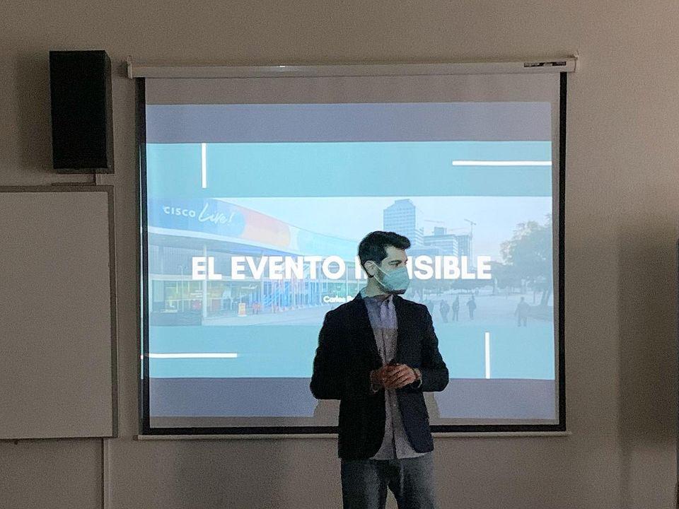 Carlos Palau y la organización de eventos
