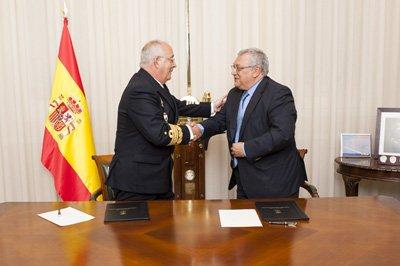 Firma convenio de colaboración EIP y La Armada