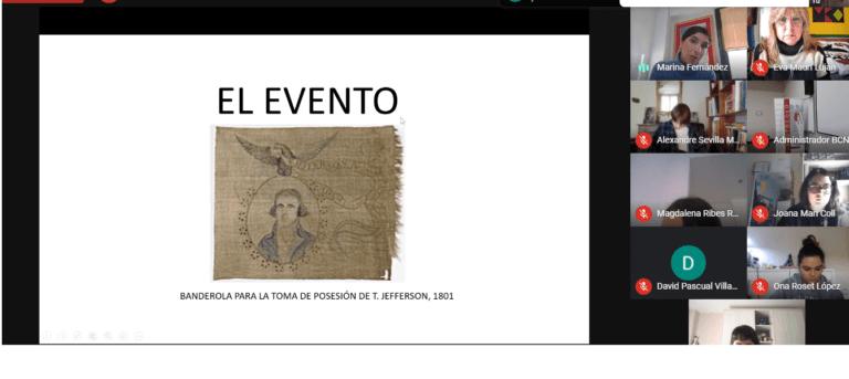 conferencia Marina Fernández Inauguration Day