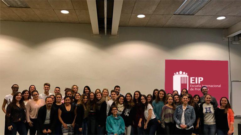 Queralt Antú Serrano inspira a los alumnos de EIP Barcelona durante su conferencia anual