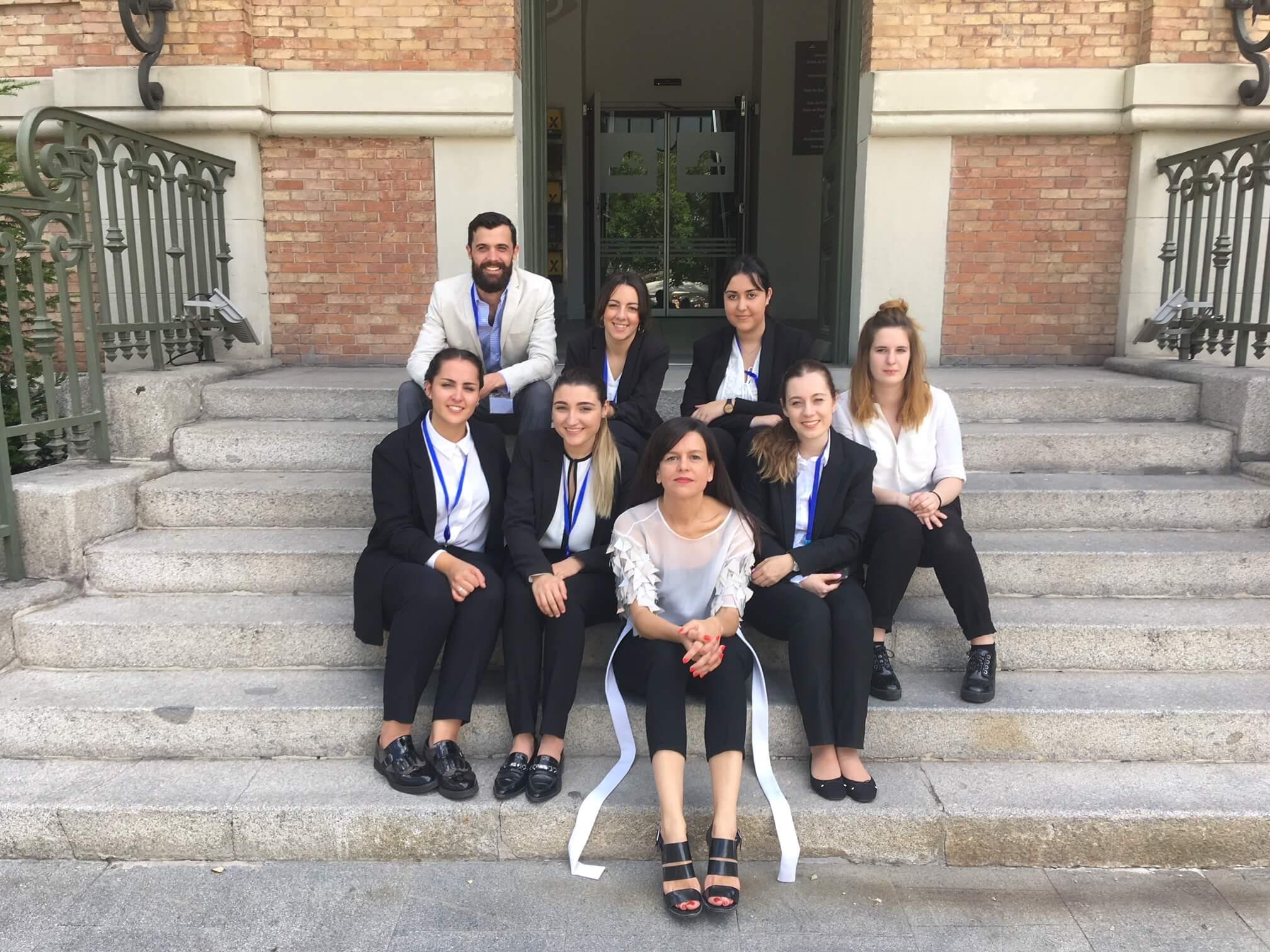 Alumnos de prácticas en Pilar Dalbat