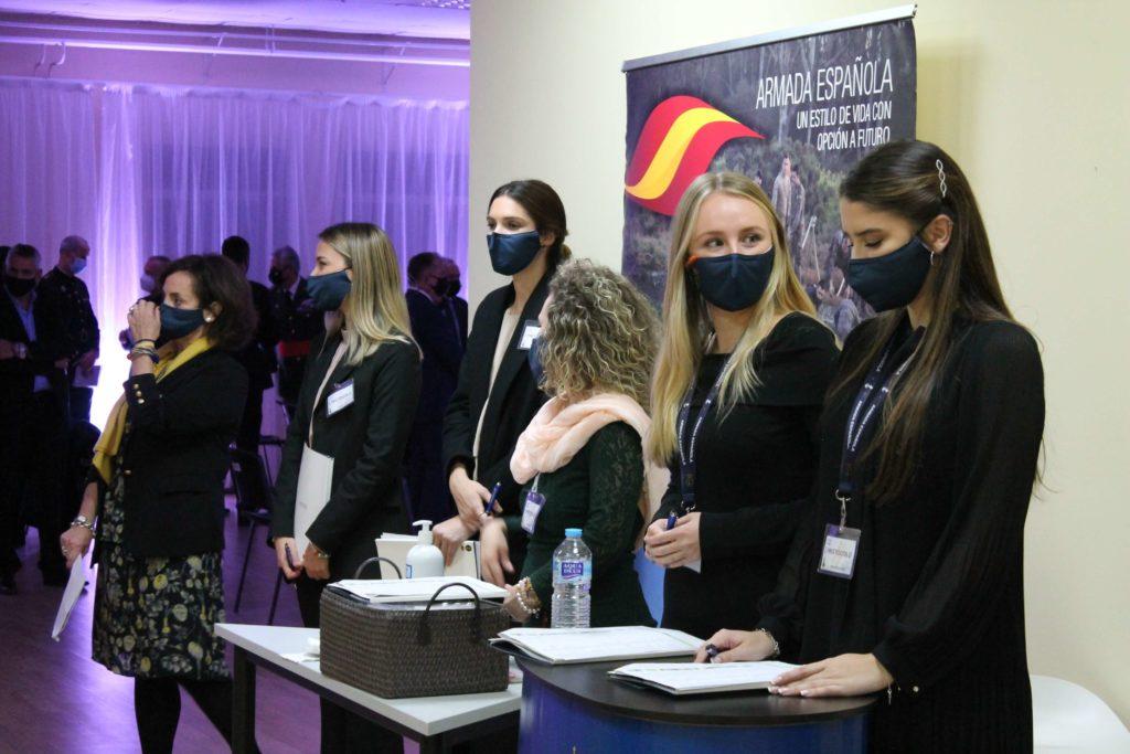 Alumnos EIP Madrid prácticas en Premios Armada 2020