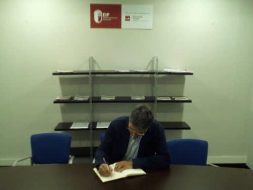 El jefe de proyectos del equipo de protocolo del Ayuntamiento de Barcelona, Joaquim Romañach, protagonista de una conferencia