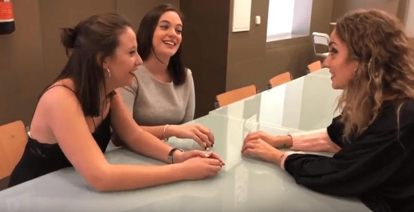 Grabación corto carnvala 2018. Alumnas de CFGS Imagen Personal y Corporativa
