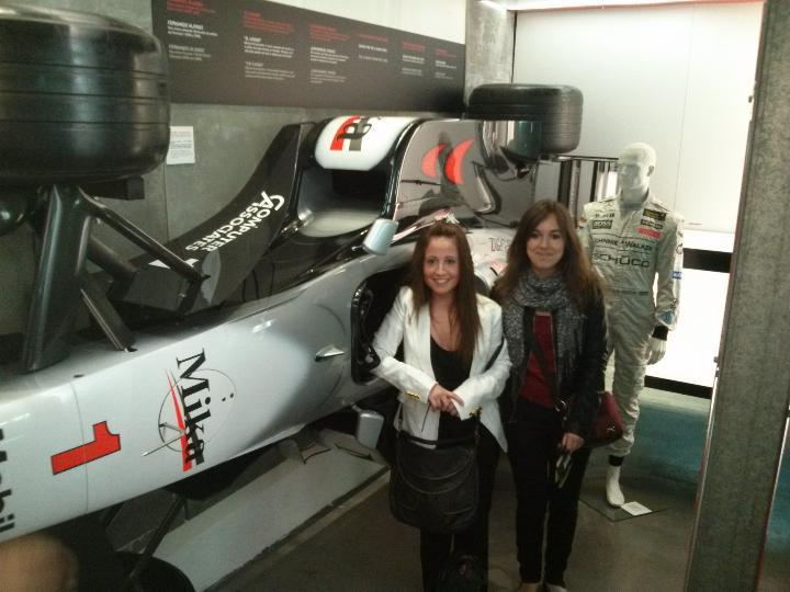 Visita al Museo Olímpico Juan Antonio Samaranch