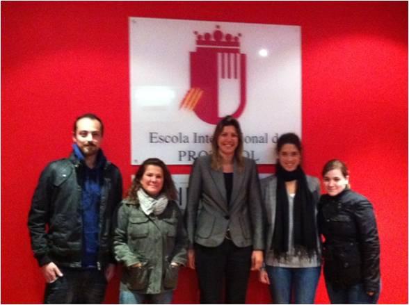 Conferencia sobre Protocolo y Ceremonial UNIVERSITARIO en la EIP de Barcelona
