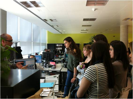 Visita al Consell Audiovisual de CAtalunya