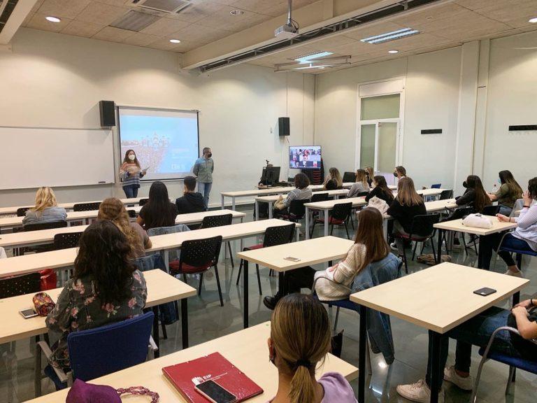 Xevi Pallas conferencia en EIP Barcelona